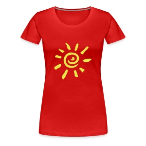Sun Girly - Frauen Premium T-Shirt