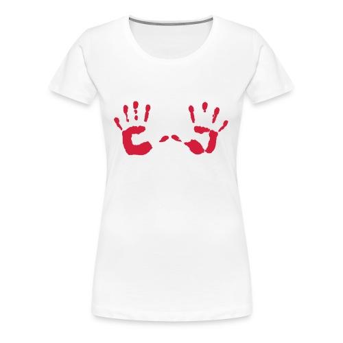 Hands - Women's Premium T-Shirt