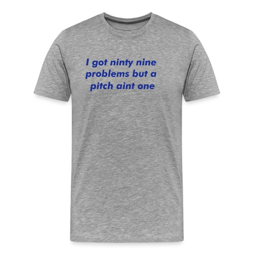 pitch - Men's Premium T-Shirt
