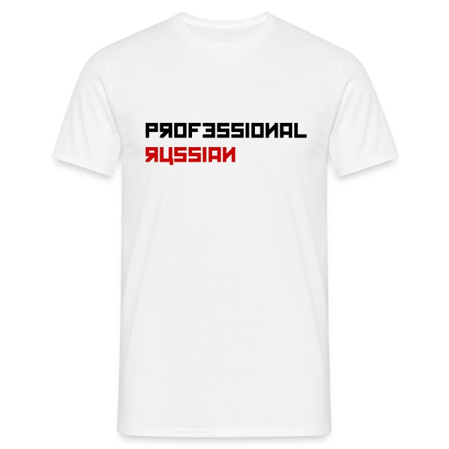 Professional Russian - Black type