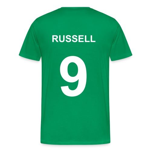 Russell No. 9 T-Shirt - Men's Premium T-Shirt