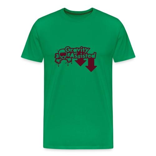 Wheel Dog Gravity Assisted t-shirt - Men's Premium T-Shirt