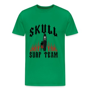Wheel Dog Skull Surf Team t-shirt - Men's Premium T-Shirt