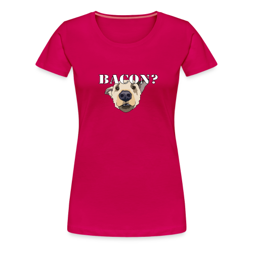 BACON DOG - Women's Premium T-Shirt