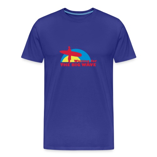 Wheel Dog Big Wave t-shirt - Men's Premium T-Shirt
