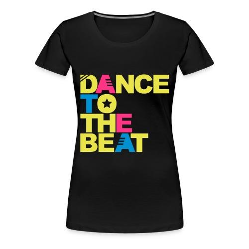 Dance To The Beat (Yellow) - Women's Premium T-Shirt