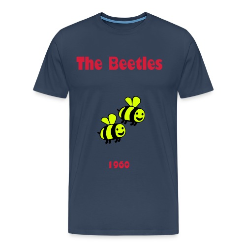 Beecause im fly- Designed by Kevin Damgaard - Men's Premium T-Shirt