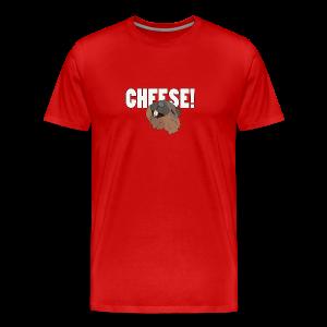 CHEESE! - Men's Premium T-Shirt