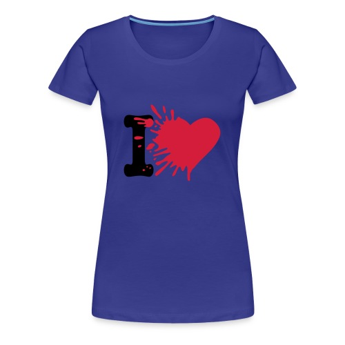 Girls: I Love - Frauen Premium T-Shirt