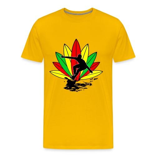 Rasta surfer t-shirt - Men's Premium T-Shirt
