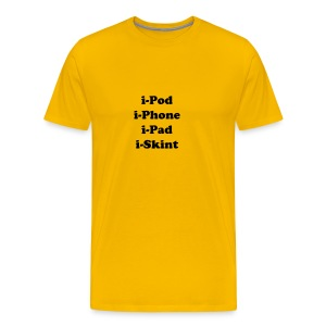 iSkint - Men's Premium T-Shirt