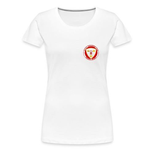 Ladies Round Neck Short Sleeved T-Shirt - Women's Premium T-Shirt