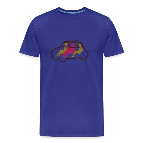 Tre Persone in Cinquecento - Männer Premium T-Shirt