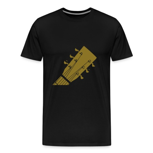 golden guitar - Männer Premium T-Shirt
