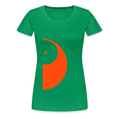 Duo-Shirt YANG - Frau  - Frauen Premium T-Shirt