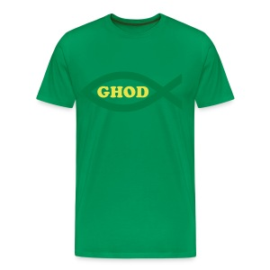 Ghod-green - Men's Premium T-Shirt