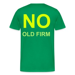 No Old Firm - Men's Premium T-Shirt