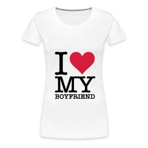 I(L)MY boyfriend - Vrouwen Premium T-shirt