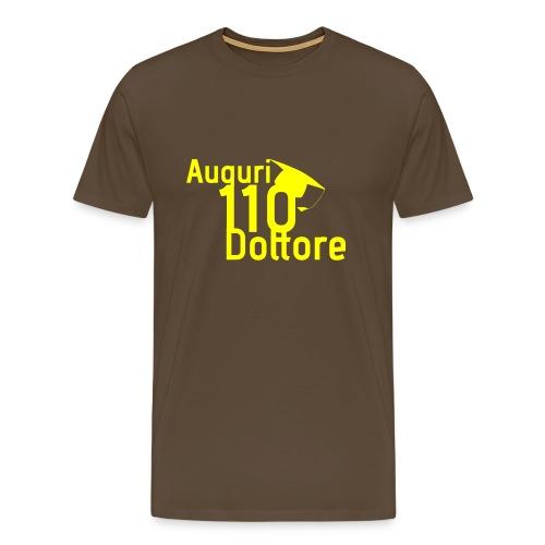 Auguri Dottore 110 - Maglietta Premium da uomo
