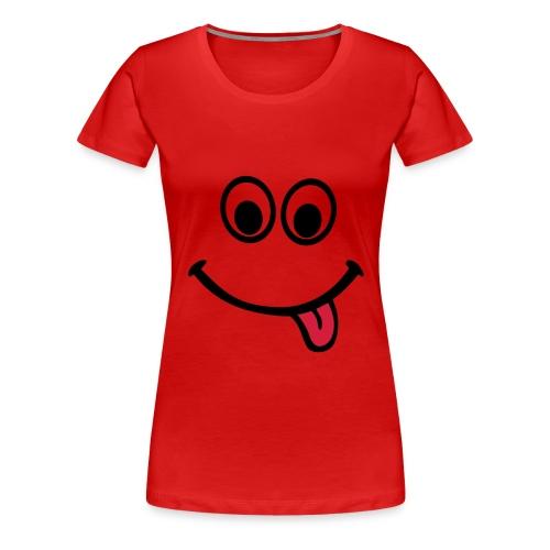 Girlsred Smiley - Women's Premium T-Shirt