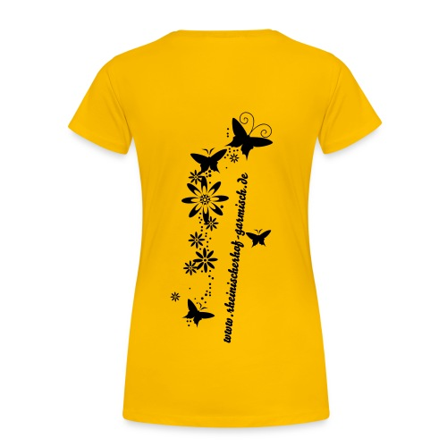 T-Shirt Girlie Butterflies - Frauen Premium T-Shirt