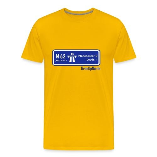 Man Utd 0 - 1 Leeds (FA Cup 2010) - Men's Premium T-Shirt