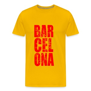 BARCELONA RED - Men's Premium T-Shirt