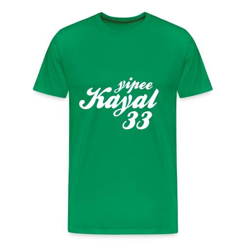 Yipee Kayal - Men's Premium T-Shirt