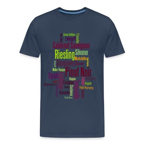 Any colour you like - Rebsorten - Männer Premium T-Shirt