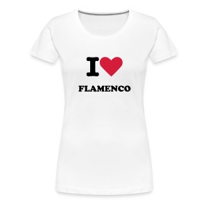 I love falmenco (women t-shirt) - Camiseta premium mujer