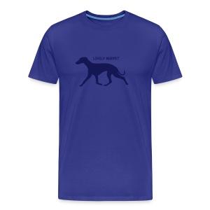 Männer Premium T-Shirt - Agility weltmeister,Border Collie,Dog Dancing,Flyball,Hund,Hunde Shirts,Jaeger,Longieren,Loyal Canin,Obedience,Outfit,Rassehund,Retriever,Rettungshund,Royal,T-Shirt,Team-Test,aus,chien,dog,platz,sitz,spread shirt,steh,vorstehen