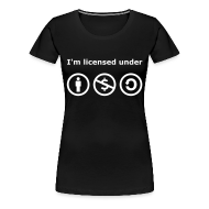 T-Shirts ~ Frauen Premium T-Shirt ~ Creative Commons Girlieshirt