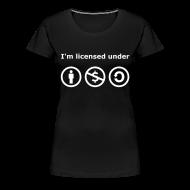 T-Shirts ~ Frauen Premium T-Shirt ~ Creative Commons Girlieshirt