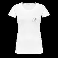 Tee shirts ~ T-shirt Premium Femme ~ Wikipédia poitrine Blanc