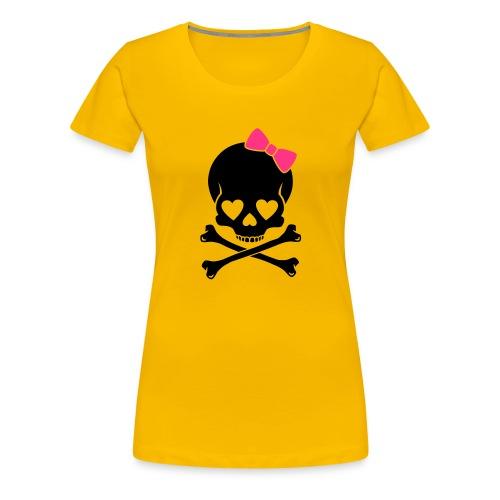 Miss Skull & Crossbones - Women's Premium T-Shirt
