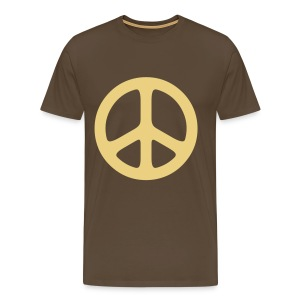 peace sign hippie T-Shirts - Men's Premium T-Shirt