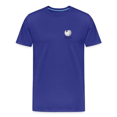 Wikipédia poitrine Couleur - T-shirt Premium Homme