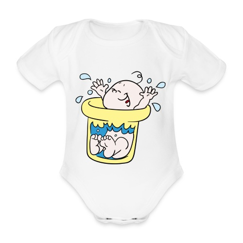 Tummytub - Baby bio-rompertje met korte mouwen