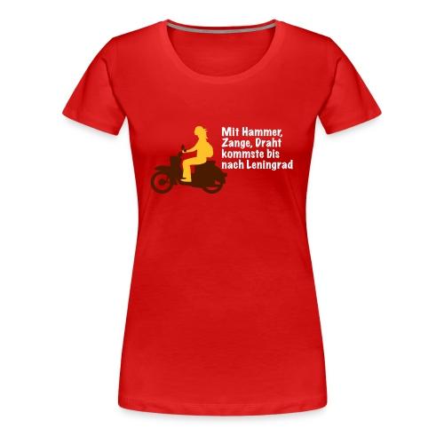 Leningrad Girlieshirt - Frauen Premium T-Shirt