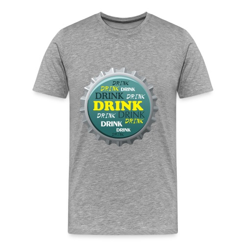 Drink - Männer Premium T-Shirt