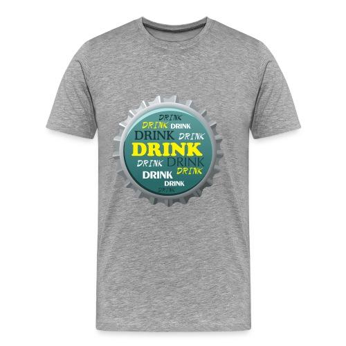 Drink - Miesten premium t-paita