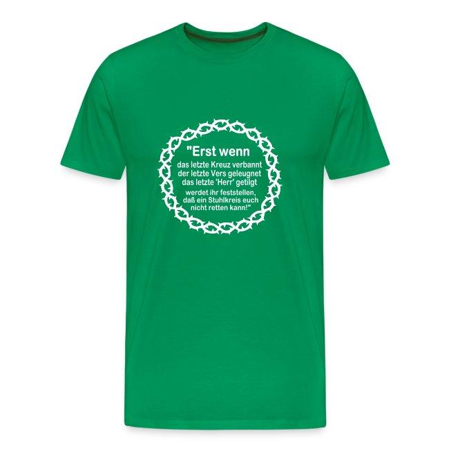 Shirt Weissagung weißer Druck (Farbwahl)