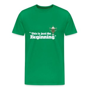 This is Just the Beginning - Men's Premium T-Shirt