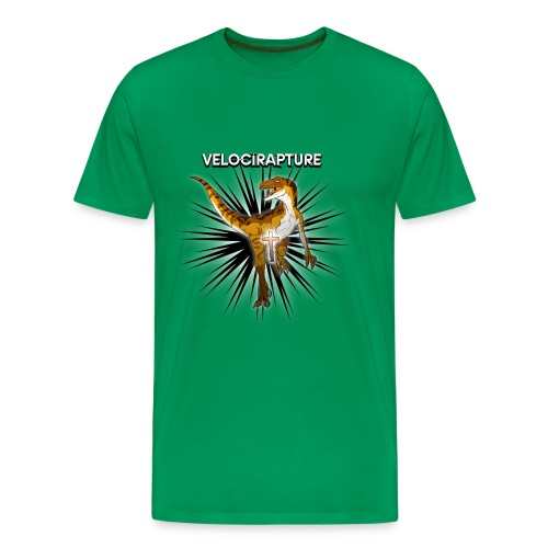 Velocirapture Men's classic T-Shirt - Men's Premium T-Shirt