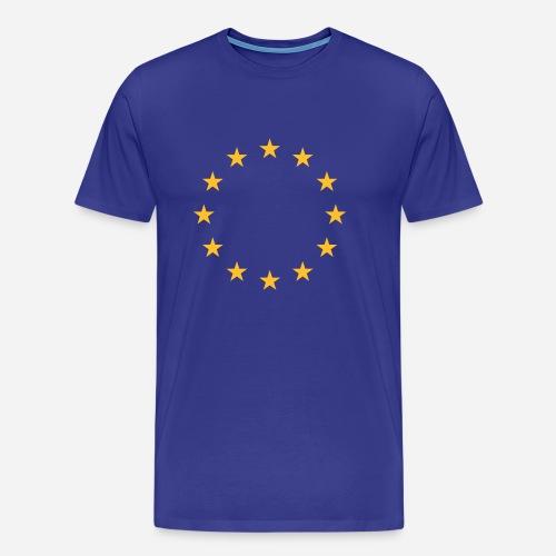 EU Stars (Men) - Herre premium T-shirt