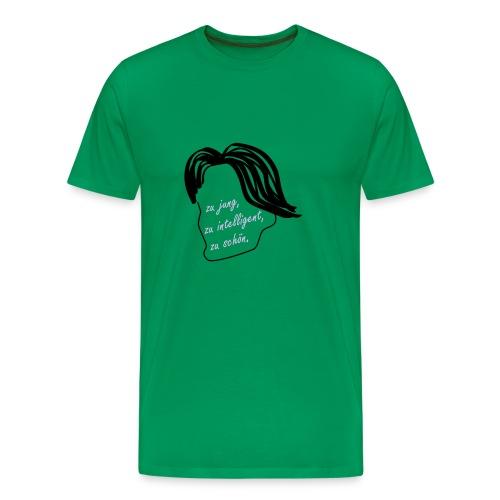Grasser fan shirt - Männer Premium T-Shirt
