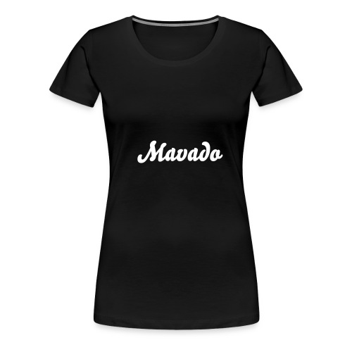 Mavado Woman girlie T  - Women's Premium T-Shirt