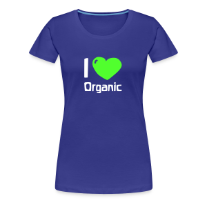 I love Organic Shirt - Frauen Premium T-Shirt