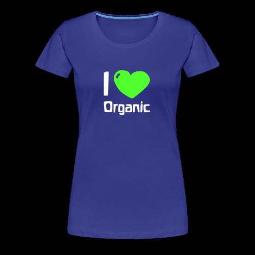 I love Organic Shirt - Frauen Premium T-Shirt