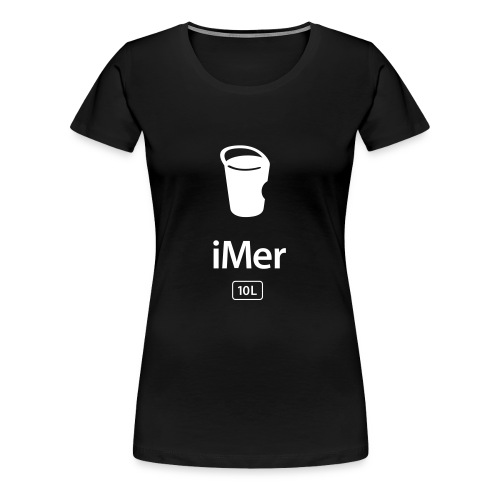 "Shirt ""iMer"" - Frauen Premium T-Shirt"
